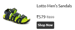 Lotto Men Sandal