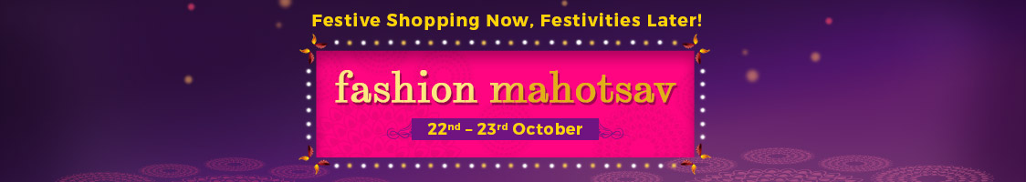 Fashion Mahotsav | 22nd – 23rd Oct – Buy Online at Shopclues.com