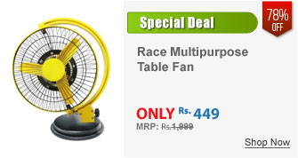Race Multipurpose Table Fan