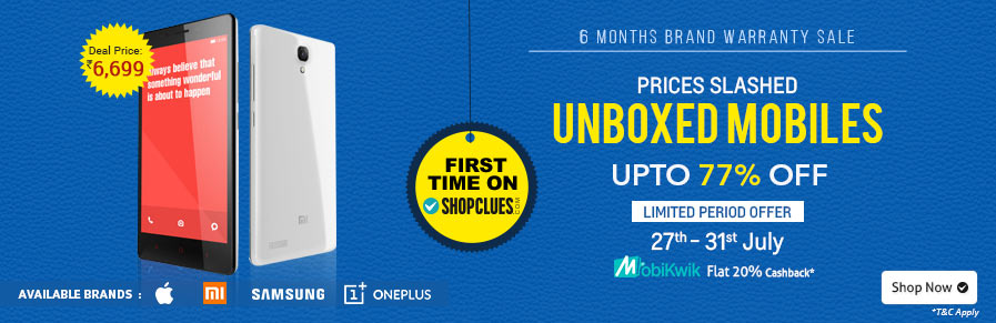 Unboxed Mobiles