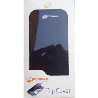 Micromax A76 Flip Cover Black available at ShopClues for Rs.237