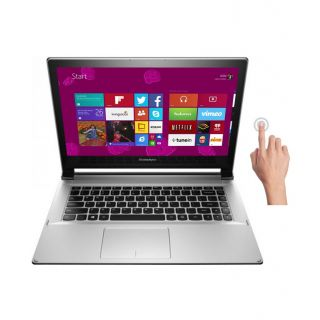 Lenovo Ideapad Flex 2-14 (59-429728) Notebook (4th Gen Intel Core I3- 4GB RAM- 500GB HDD+8GB SSD- 14 Inches Touchscreen- Windows 8.1) (Grey)