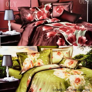 Valtellina Set Of 2 Double Bedsheet With 4 Pilow Covers(COMBO-26_7AM-001_029)