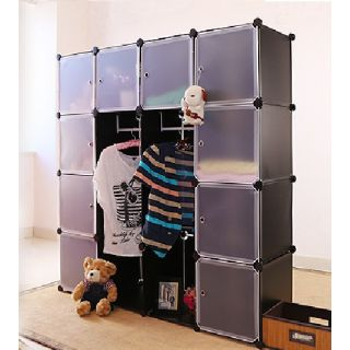 PLASTIC WARDROBE CUPBOARD ALMIRAH  DLX  LKL 80 available at ShopClues for Rs.5550