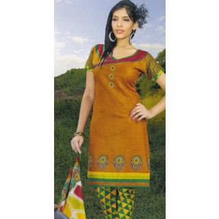 Paris Dress  Cotton Dress Material Elegant / Unstiched Salwar Kameez Suit D. NO. PB10009