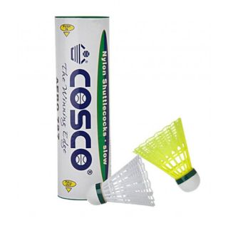 Cosco Aero 777 Shuttlecock (Pack Of 1 Dozen) - White