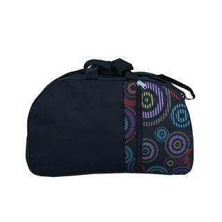 400426 Black N Multi-Color Luggage & Travel Bag