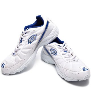 Lotto Truant White & Blue Sports Shoes
