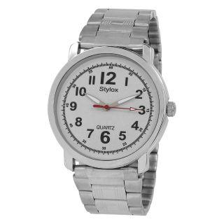 Stylox WH-STX212 White Dial Chain (STX212) Analog Watch - For Men