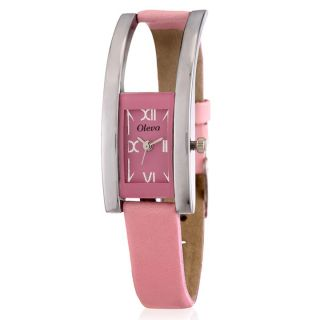 Vintage Multicolor Leather Strap Womens Set Of 5 Watches