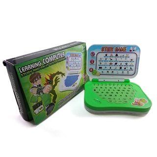 Original Ben10 English Learning Mini Computer Laptop Toy For Kids