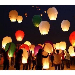 5pcs aakash kandil aakash kandils akash kandil akash kandils hot air balloon mini parachute flying   lantern glow lantern chinese lantern paper lantern paper hanging lantern fire works firework fire  lantern wish lantern diwali kandil diwali kandils UFO b
