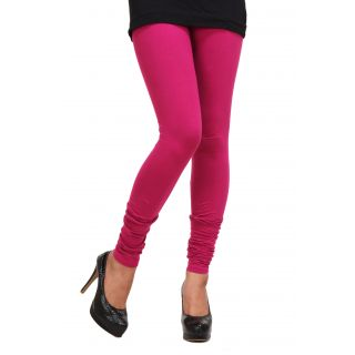 New Trends Pink Cotton Leggings - 75066386