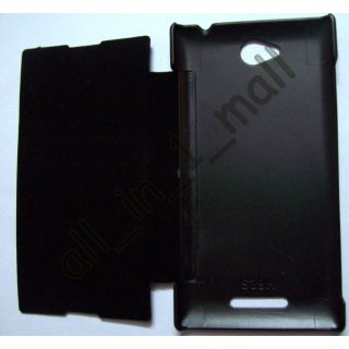 SONY XPERIA C - C2305 DIARY FLIP FLAP FOLIO COVER BACK CASE