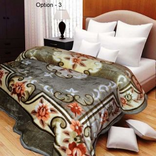 Elegant Mink Blanket for Single Bed