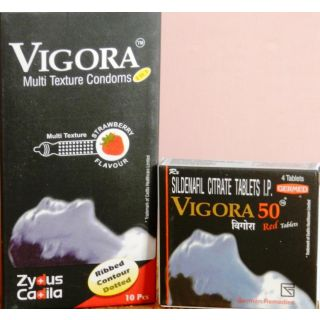 Vigora 100 Red Tablets