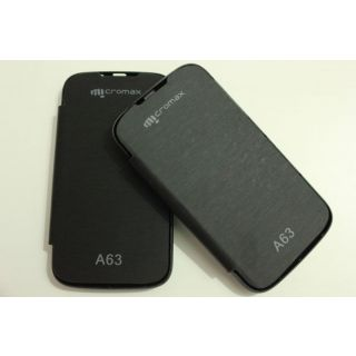 FLIP COVER  FOR A 63 MICROMAX  FREE SCREEN GUARD