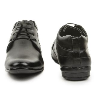 Bacca Bucci Domineering Black Derby Shoes