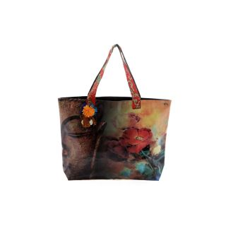 The House Of Tara Buddha Print Tote Bag - HTT 04