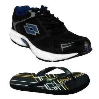 Antalya Men's Black Sports Shoes