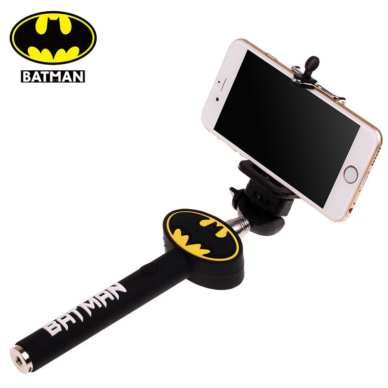 buy batman logo selfie stick monopod aux for iphone 5s 6 6plus online in india 79315456. Black Bedroom Furniture Sets. Home Design Ideas
