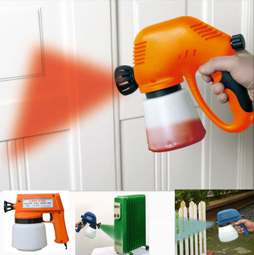 tool kits airless electric paint spray gun. Black Bedroom Furniture Sets. Home Design Ideas