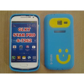 SAMSUNG GALAXY STAR PRO S-7262 SMILEY BACK COVER