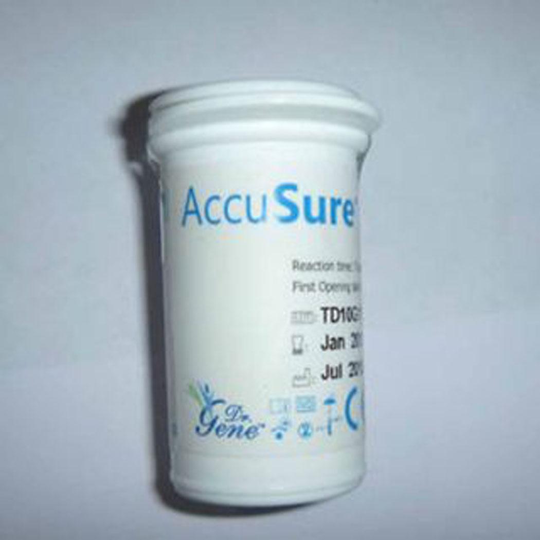 Dr gene accu sure blood sugar glucose strip lowest price shopclues