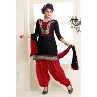 Punjabi Suits Neck Design 2014 Party Wear New Fasion Designs 3d Images