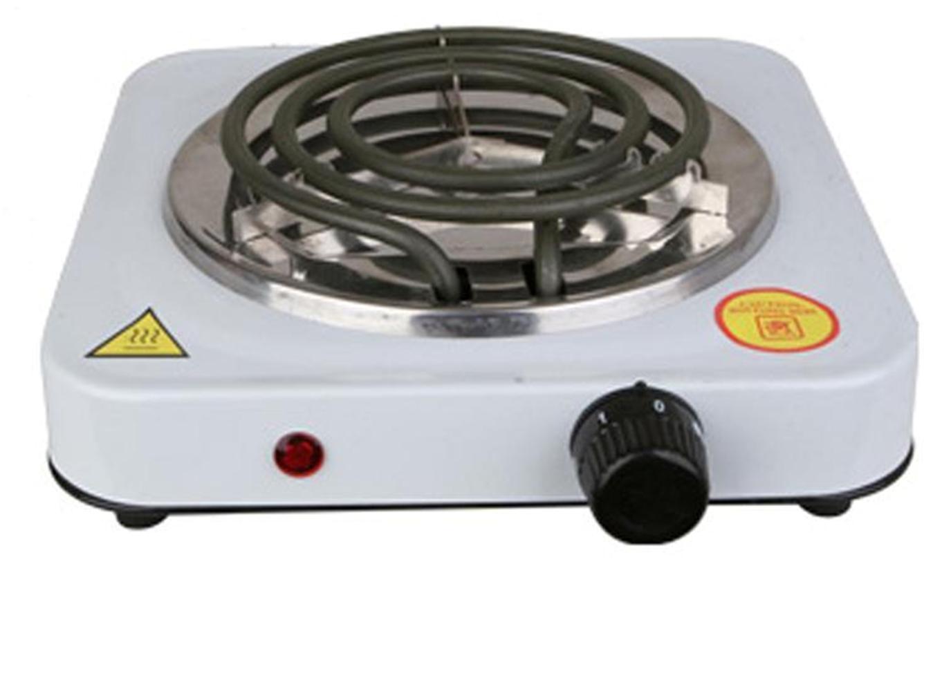 Single burner hot plate