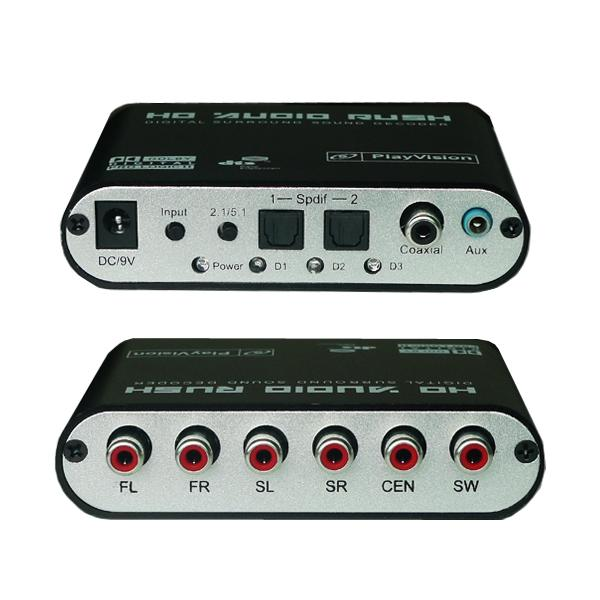 5 1 Audio Gear Digital Sound Decoder Digital To Analog