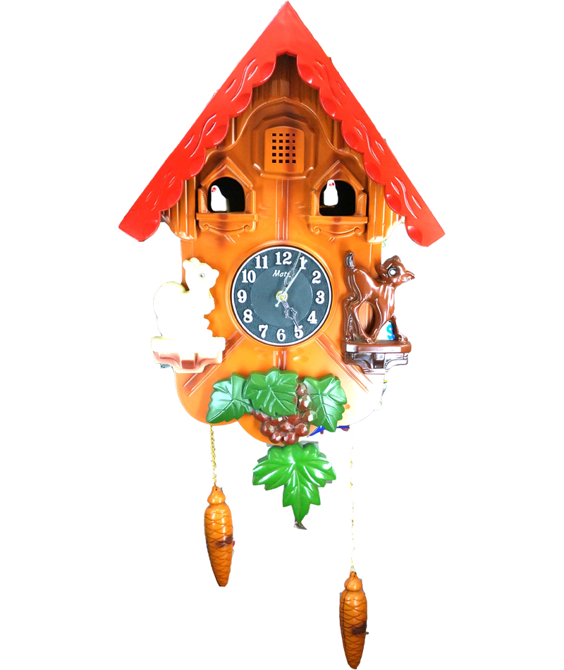 Buy Martiz Cuckoo Bird Pendulum Wall Clock Online In India