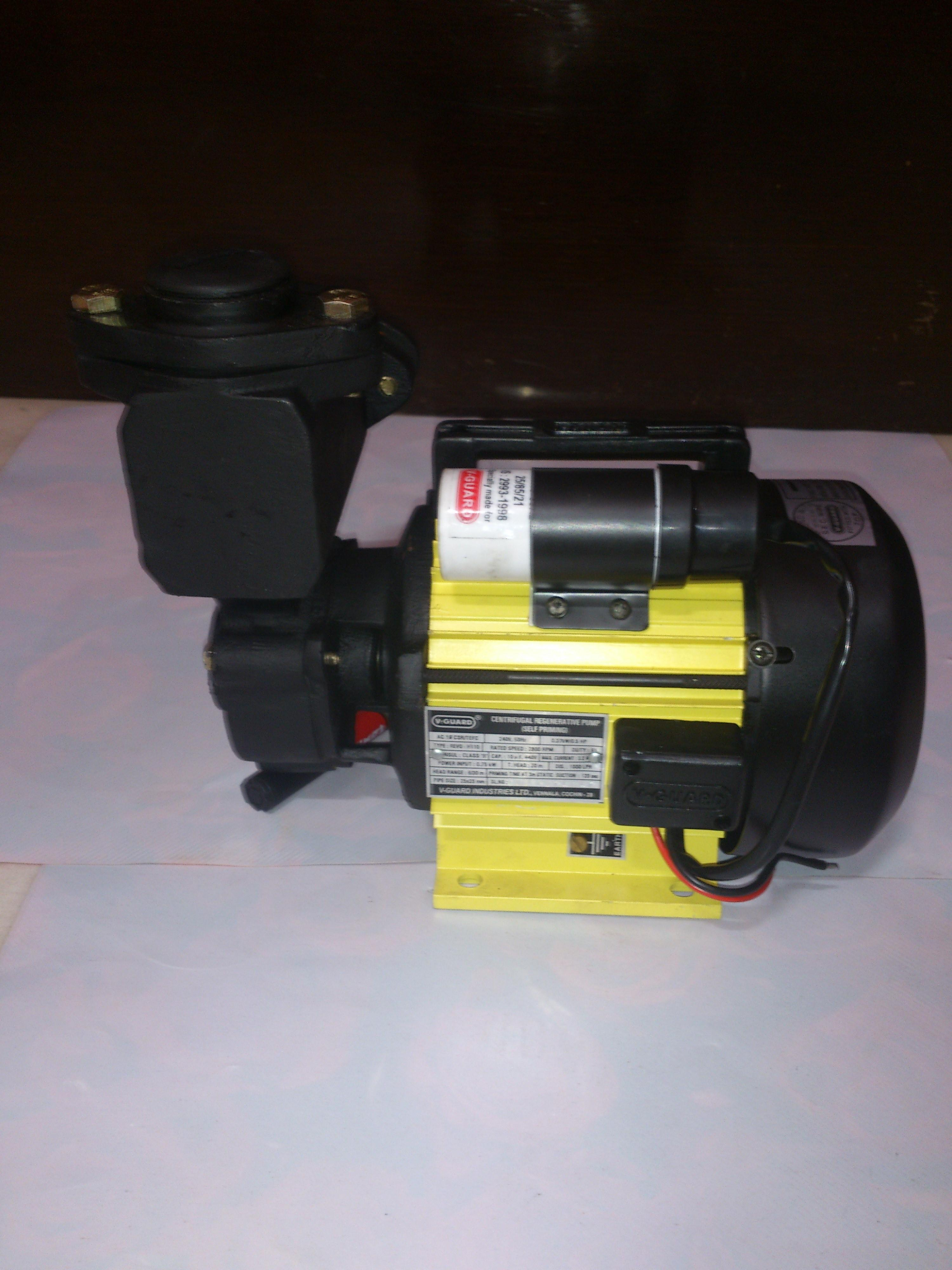 GNT V-GUARD 0.5 HP Self Priming Water Motor/Pump REVO