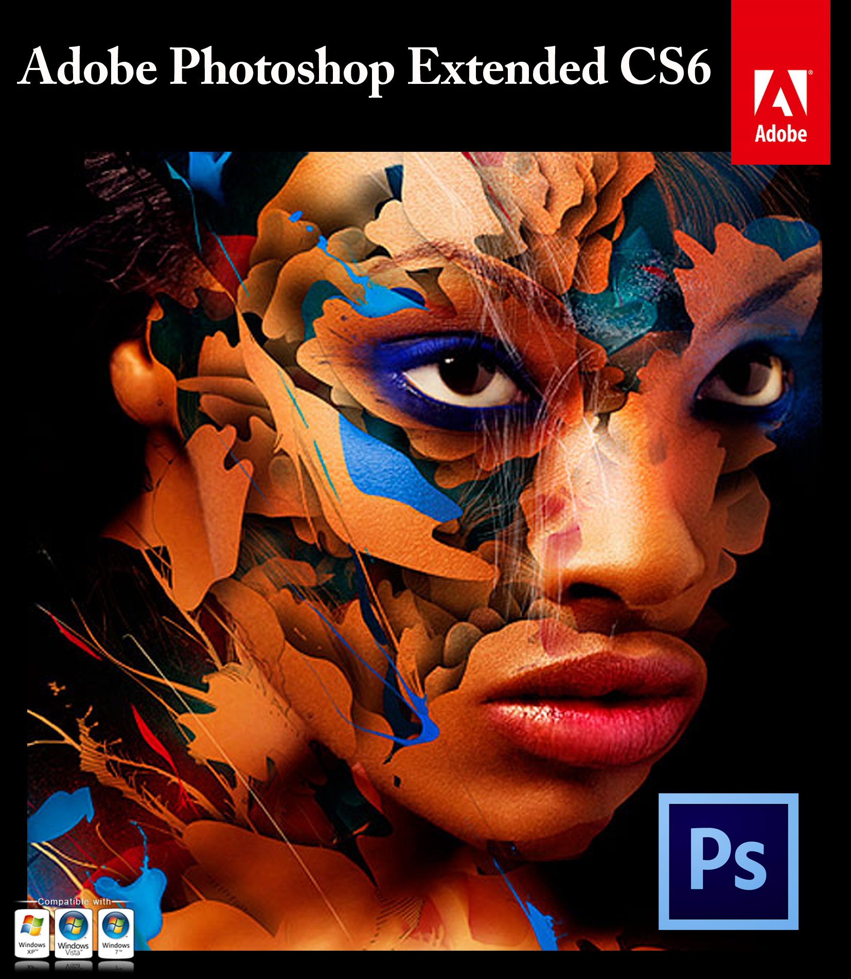 Genuine Adobe Photoshop CS6 Extended Online Key Sale 70% Discounts