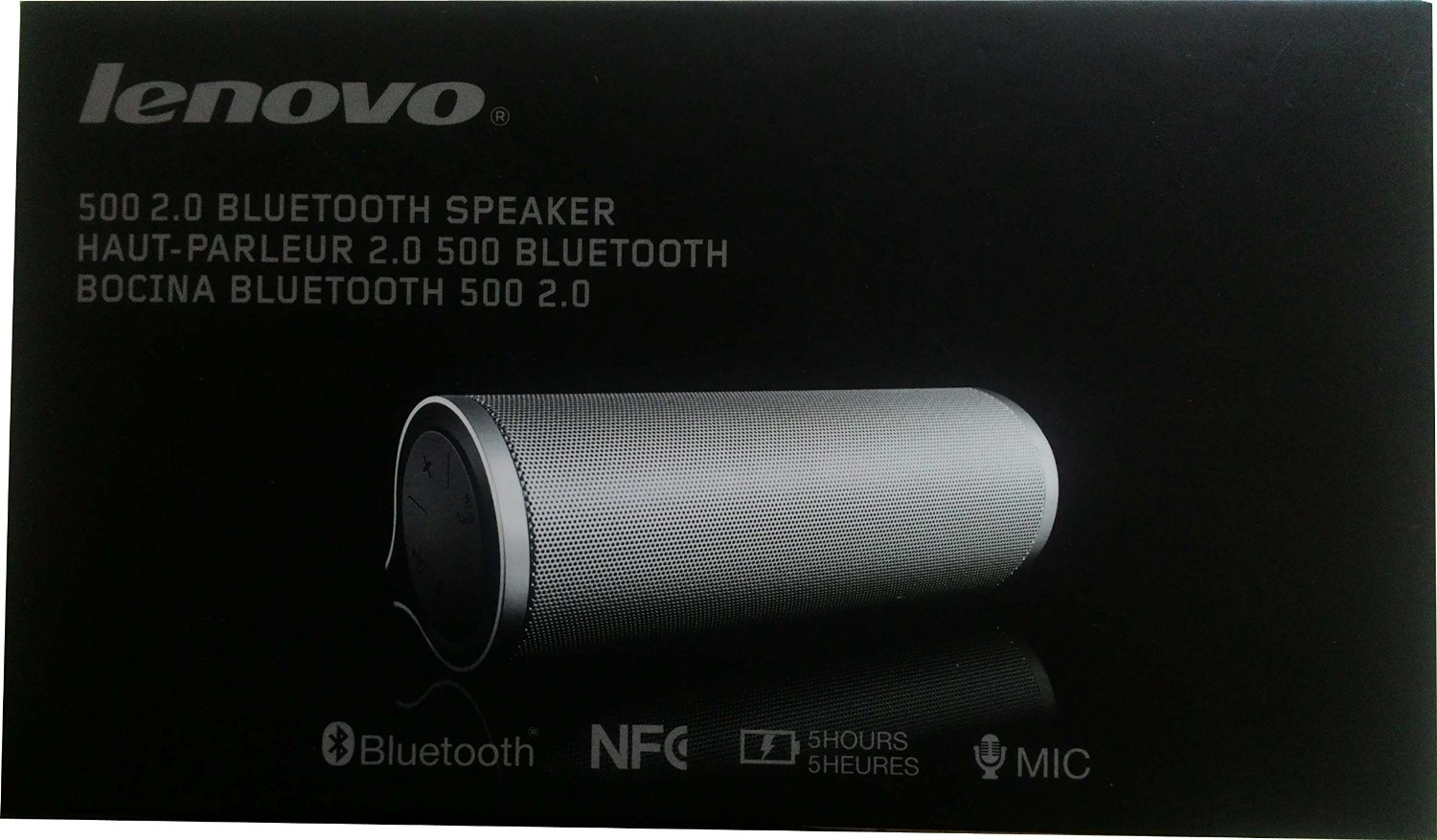 Lenovo 500 2.0 Wireless Speaker