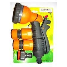 Garden & Car Hose Nozzle Set (Imported  Good Quality) - 4 Pcs