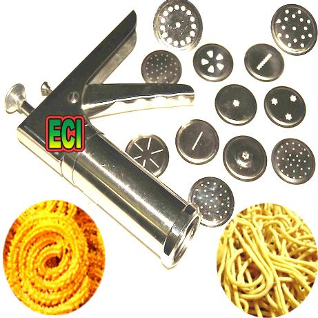 Get best deal for CROWN Bhujia Chakli Kitchen Press Murukku Shavige Shyovo Bhujia Farsan Maker at Compare Hatke