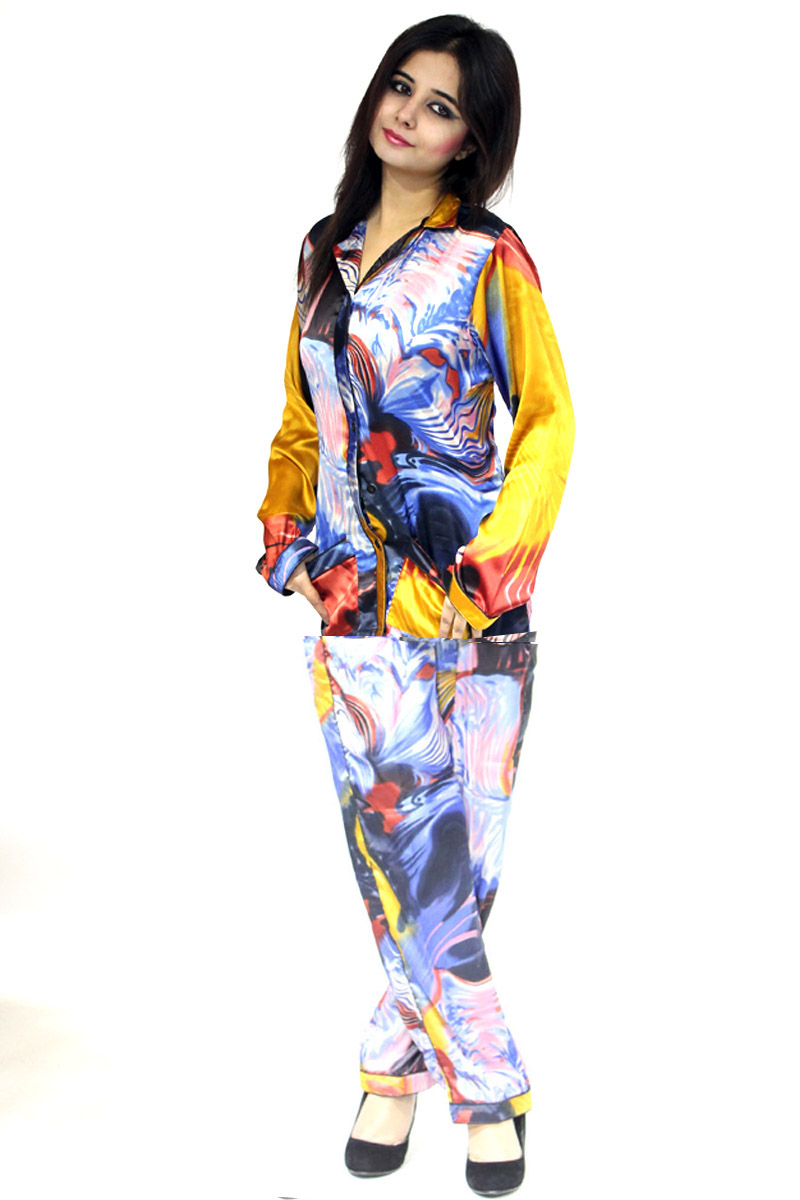 Ladies Night Suit Cotton Printed Free Size Ladies Night Suit is widely in demand in the industry. We manufacture and supply Cotton Printed Free Size Ladies Night Suit to our valued clients. It is made using high quality cotton yarns and latest machinery for effective production.
