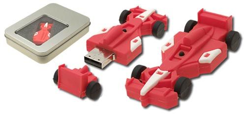 Microware USB 2.0 4GB F1 Ferrari Pen Drive