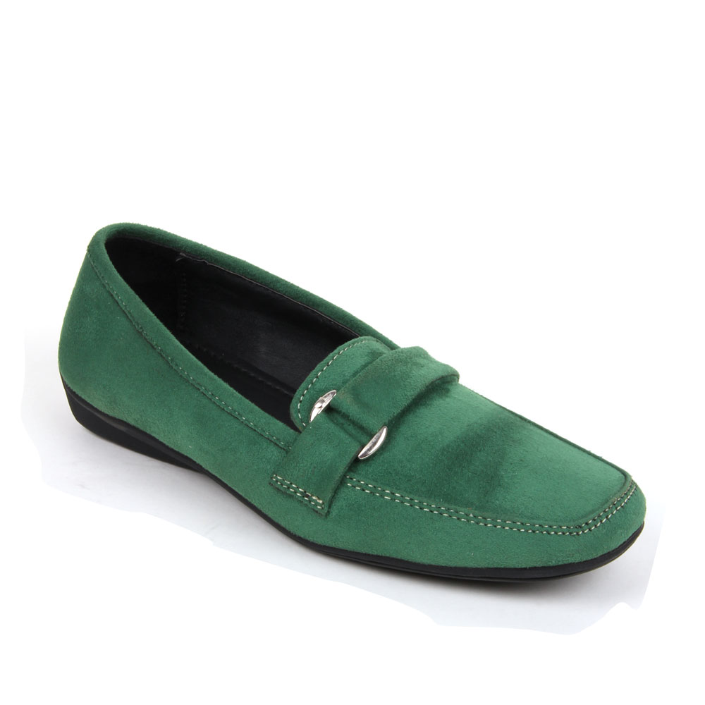 Bruno Manetti Green Casual Shoes