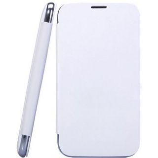 Micromax Canvas Fun A76 Flip Cover White