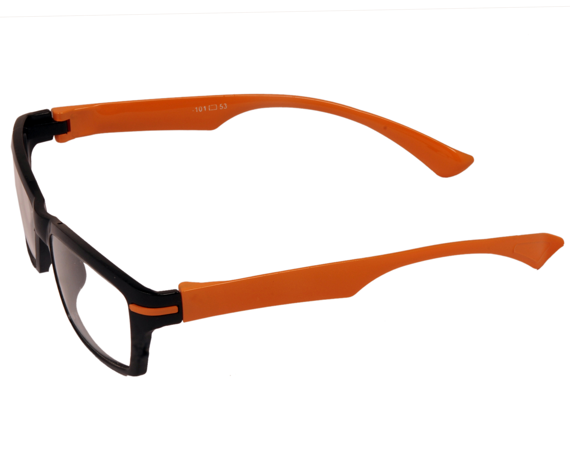 aoito orange classic black spectacles frames eyeglasses