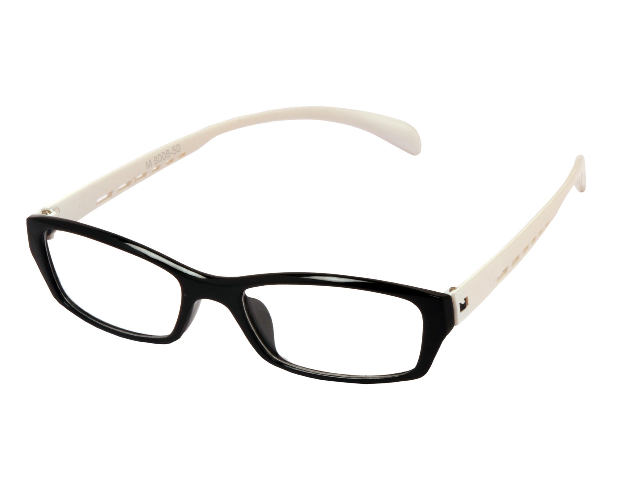 Eyeglasses White Frame : Aoito Black & White Spectacles Frames Eyeglasses for Men ...