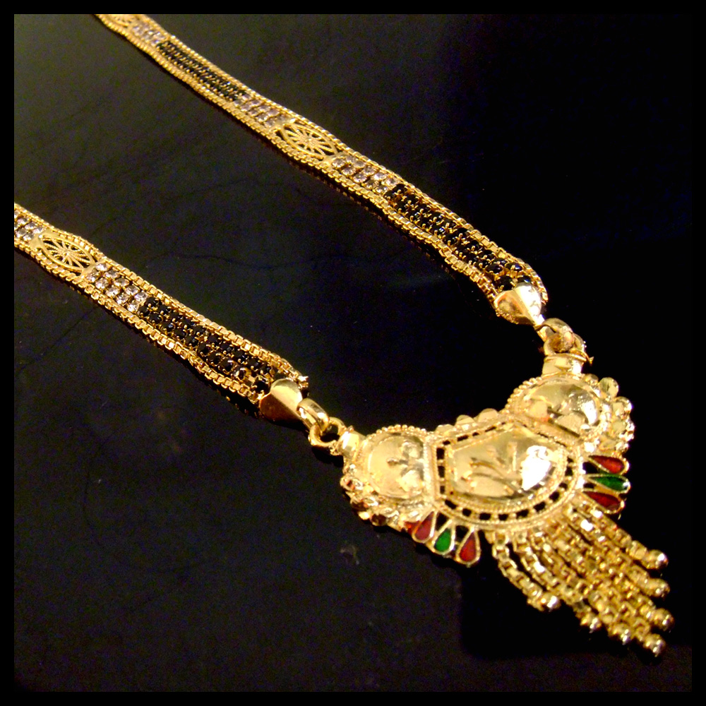 New Design Gold plated with Diamond Mangalsutra /Necklace/wedding jewellery
