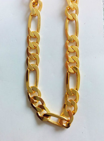 Sachin S Favourite One Gram Gold Men S Designer Box Chain 23 5 Quot Approxonline At Best Price From