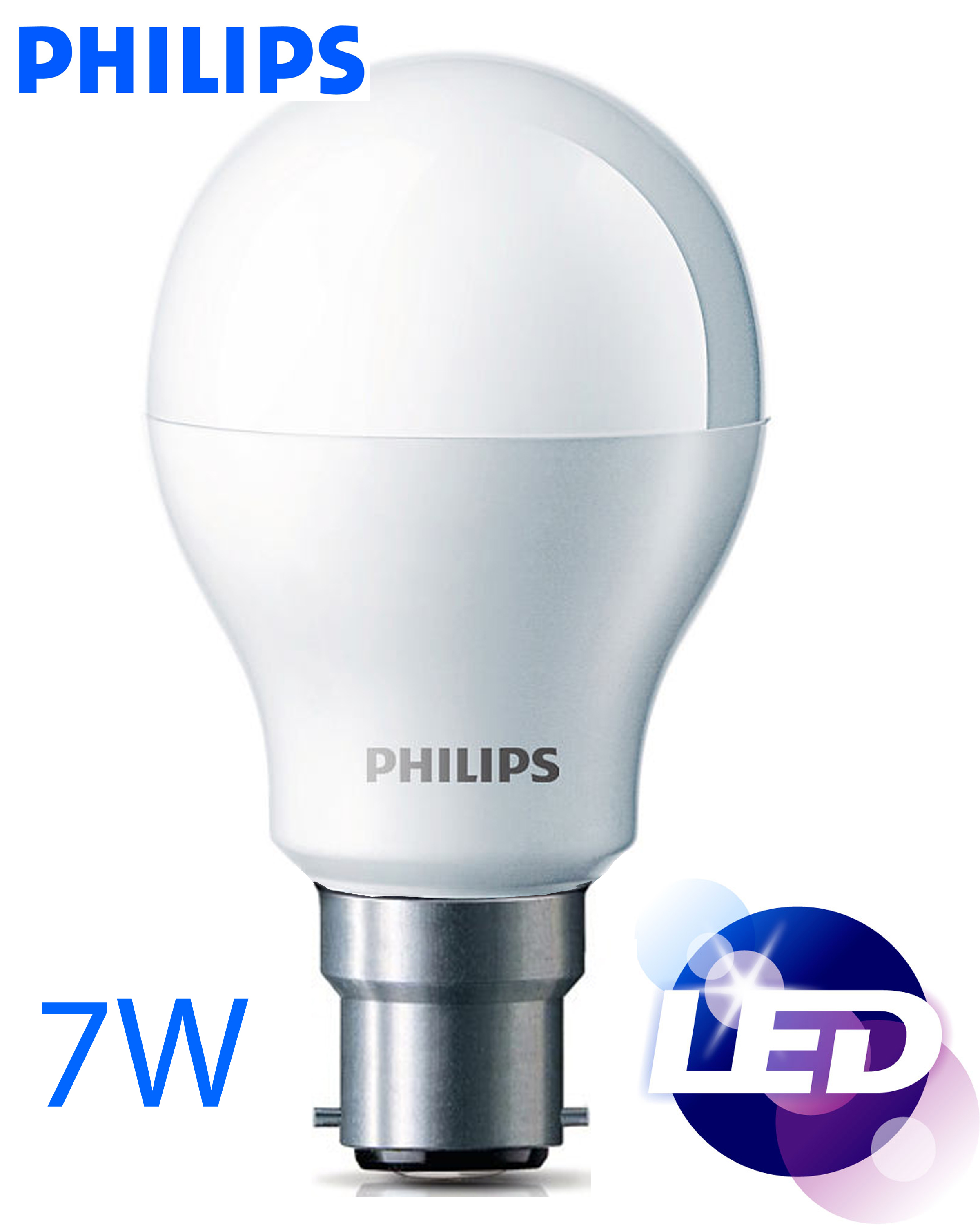 Home Appliances Small Appliances Emergency Lights Lamps Philips 7 Watts Led Bulb
