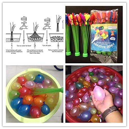 Multicolor Balloon Bonanza Water Balloons Spray Gun Check Video Below  available at ShopClues for Rs.149