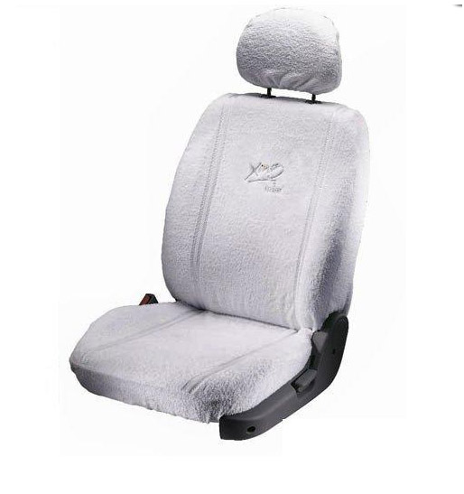 car seat covers towel beige for santro wagonr alto i10 i20 figo indica. Black Bedroom Furniture Sets. Home Design Ideas