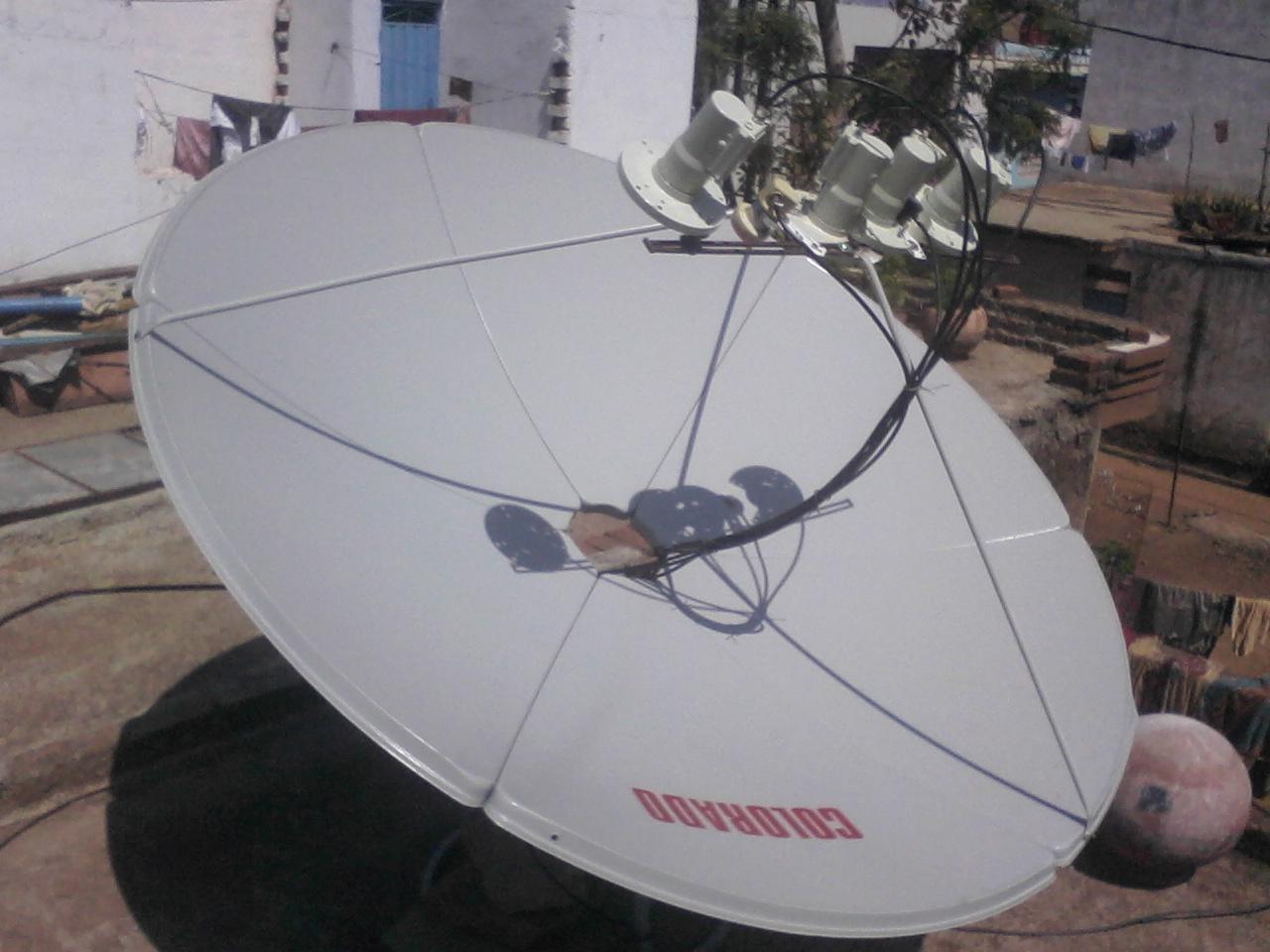 dish lnb location