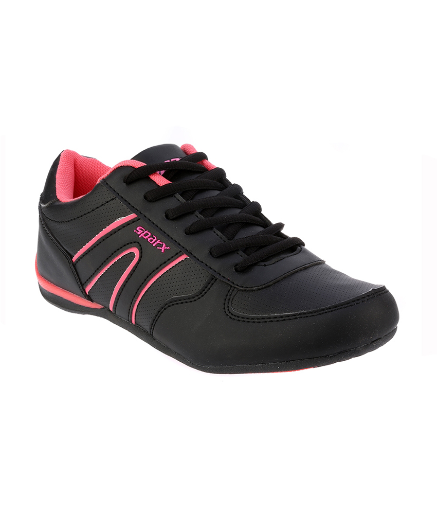sparx black pink womens shoes buy s sports shoes at